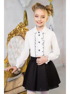 школьная блузка «кs-10»