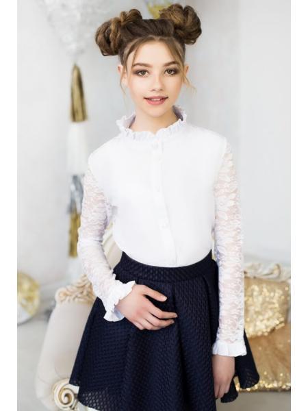 Школьная блузка для девочки «k-5» изображение