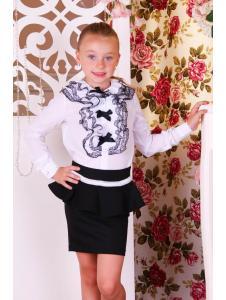 Школьная блуза B16