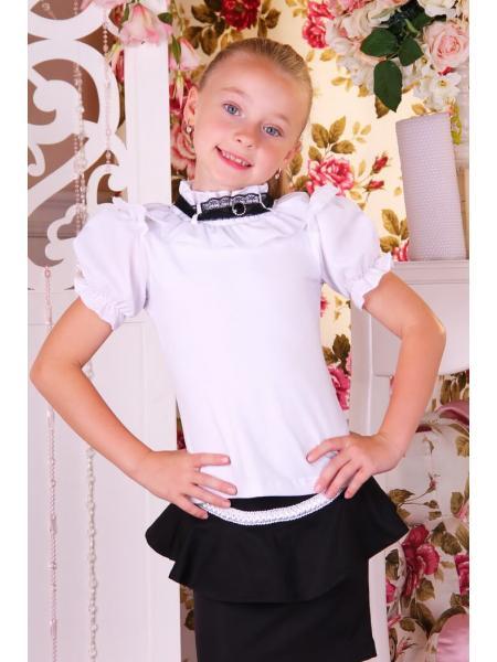 Школьная блуза B17 фото