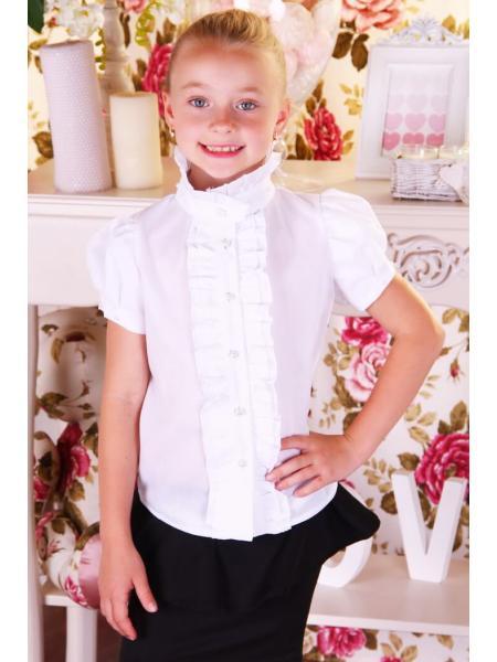 Блуза школьная «B-4» изображение