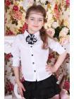 Школьная Блуза Для Девочки «B-5» изображение-1