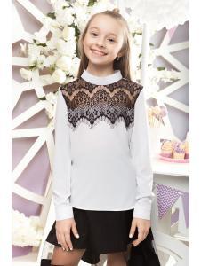 школьная блузка для девочки «sh-51»