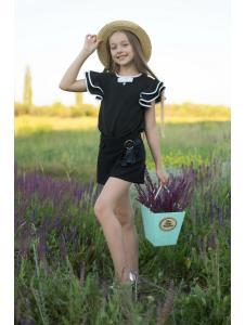 Школьная Блузка Для Девочек «sh-66»