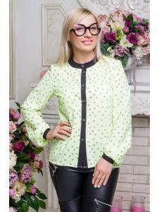 Школьная блузка для девочки shg19