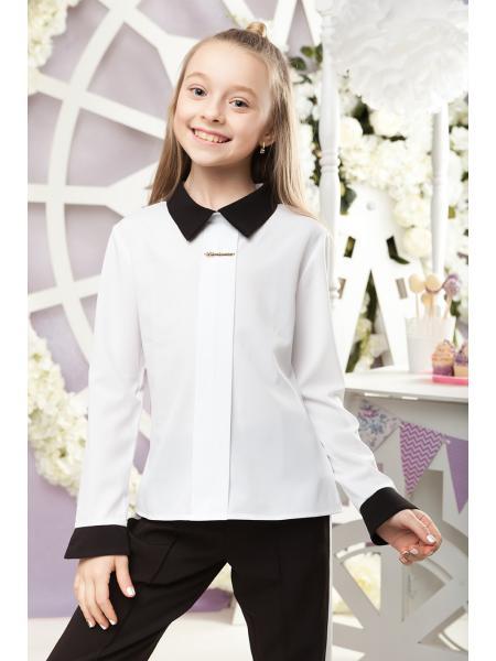 школьная блуза для девочки «sh-48» опт цена от производителя