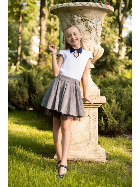 Школьная Блуза Для Девочек sh-53 изображение