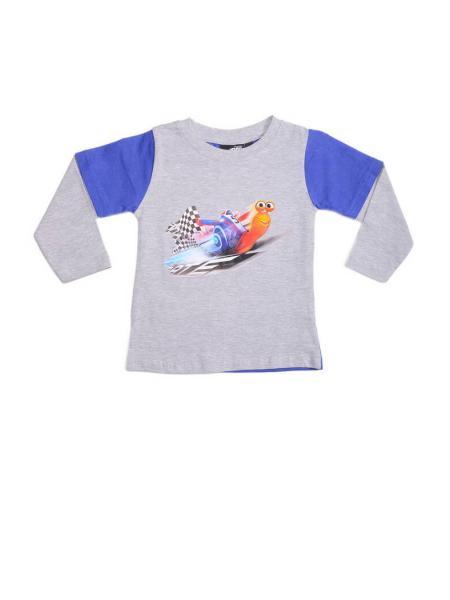 футболка «улитка» (с длинным рукавом) изображение
