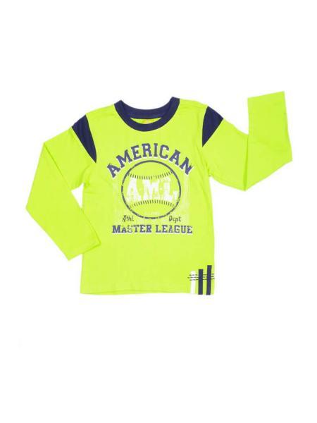 Футболка для мальчика с длинным рукавом American Life