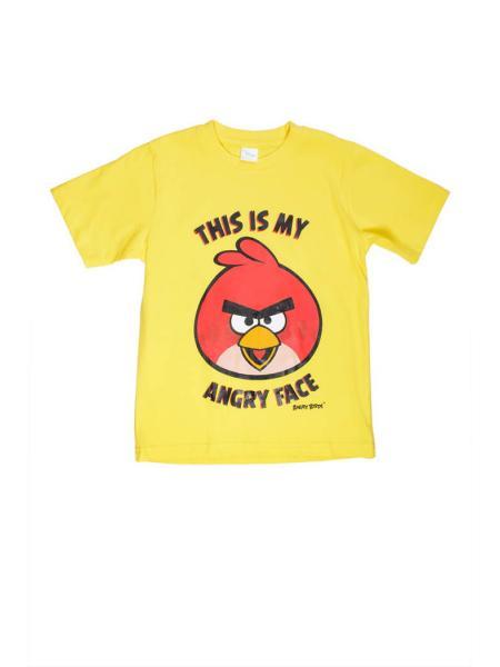 Летняя футболка Angry Birds фото