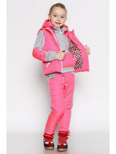 Детский костюм-тройка для девочки и мальчика City изображение