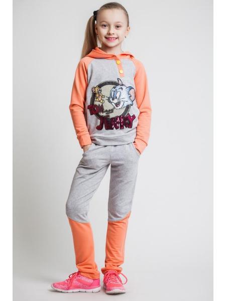 Фото товара — Спортивный костюм для девочки «том и джерри»