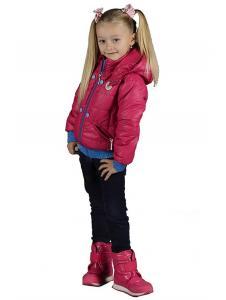 Демисезонная детская куртка для девочек Армани