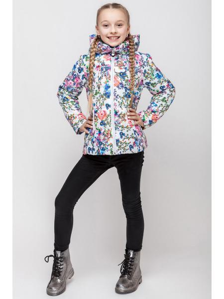 Демисезонная куртка для девочки VKD 4 изображение