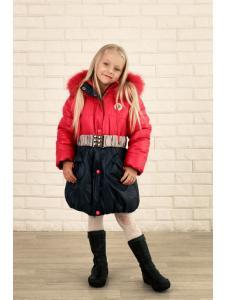 Детская куртка для девочки Радуга