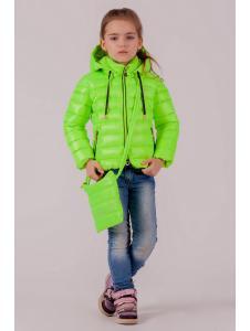 куртка весенняя для девочек «барби»
