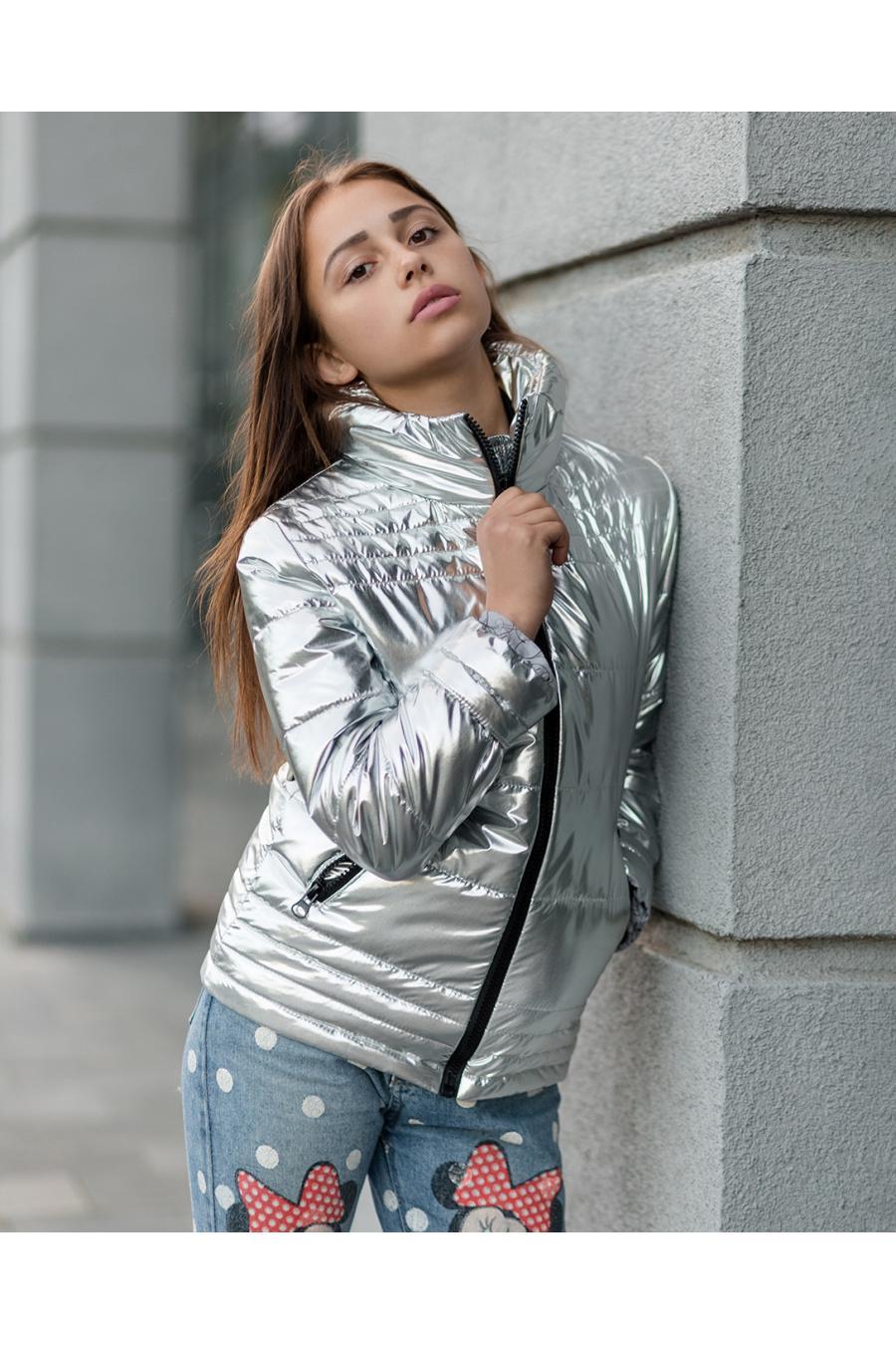 Весенняя куртка для девочек «vkd-9»