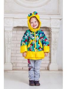 Весенняя куртка для девочки Микки
