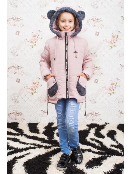 Весенняя куртка для девочки Мишель фото