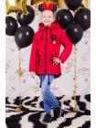 Весенняя куртка для девочки «значки» изображение-4