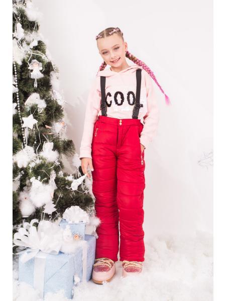 Зимние штаны для девочки BDP 1 фото