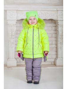 Зимний комбинезон для девочки Ариша