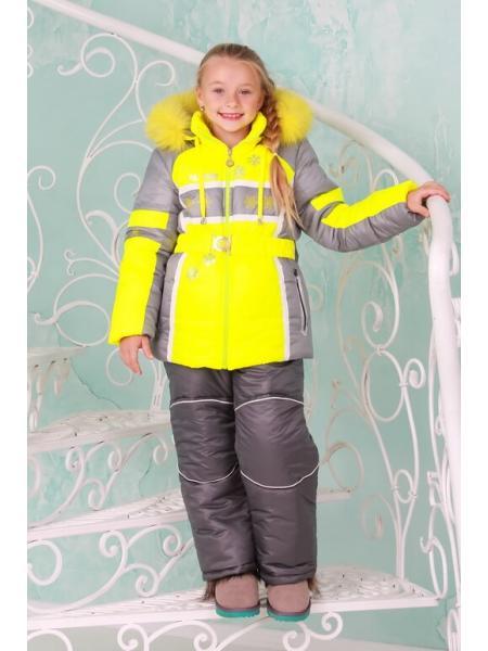 Зимний комбинезон для девочки Ария изображение