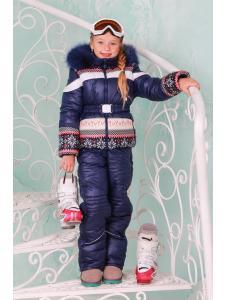 Зимний комбинезон для девочки Бемби