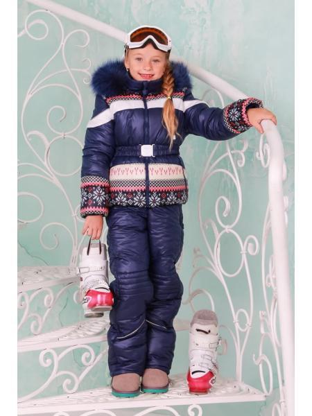 Зимний комбинезон для девочки Бемби фото