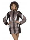 Зимняя детская куртка для девочки Космос изображение-2