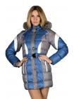 Зимняя детская куртка для девочки Космос