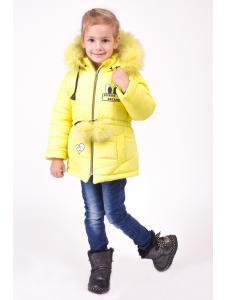 Зимняя куртка для девочки Бубон