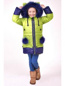 Зимняя куртка для девочки Эльза