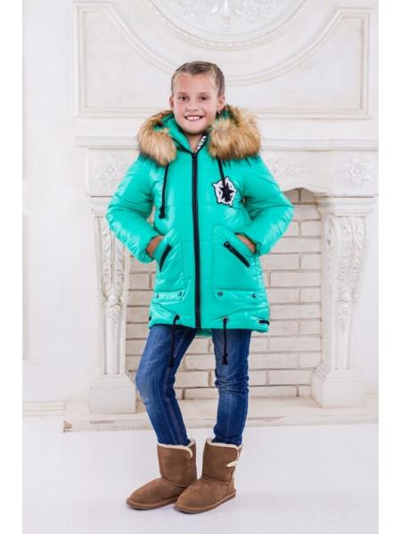"Зимняя куртка для девочки ""Москино"""