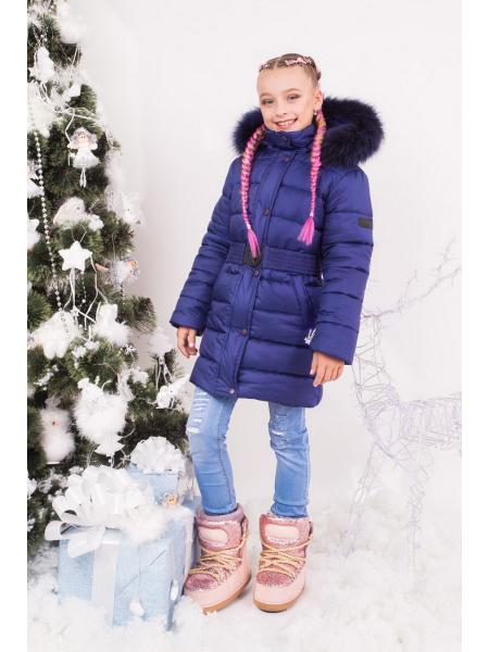 Зимняя куртка для девочки ZKD 1 опт цена от производителя