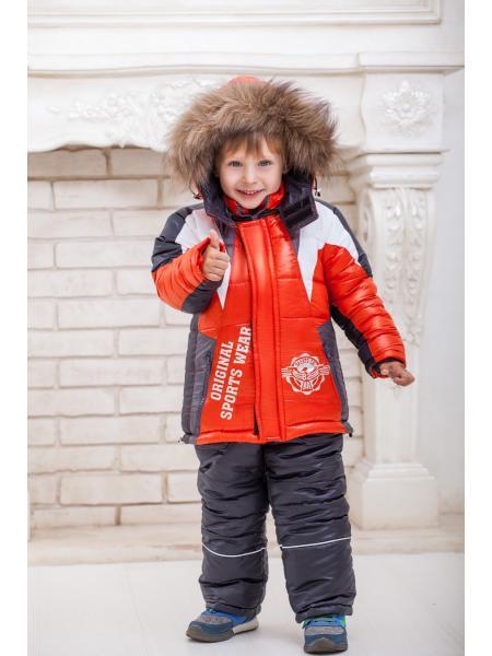 Фото товара — Комбинезон зимний для мальчика «спорт-82»