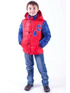 Куртка весенняя для мальчика Спорт