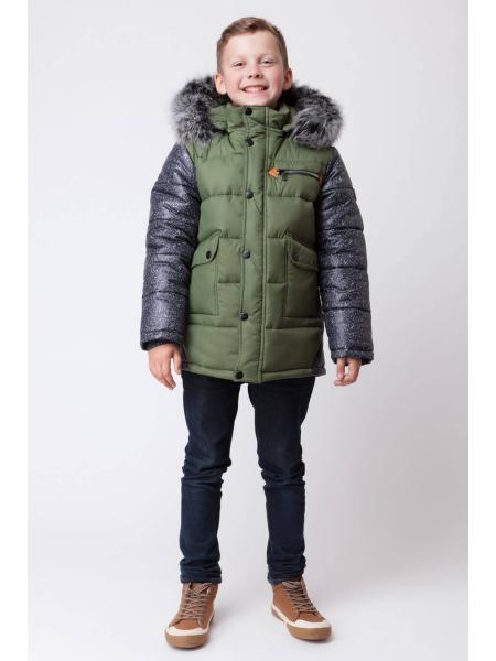 Куртка зимняя для мальчика ZKM 1 изображение