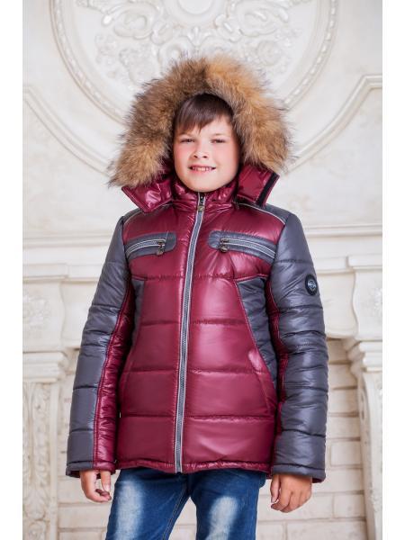 Зимняя куртка для мальчика Cэм изображение
