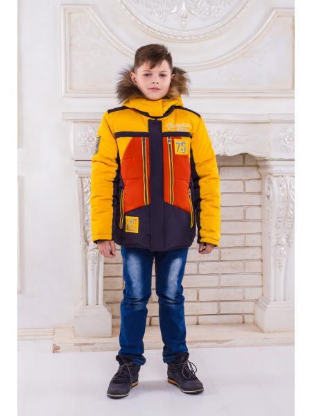 "Зимняя куртка для мальчика ""Чемпион"""
