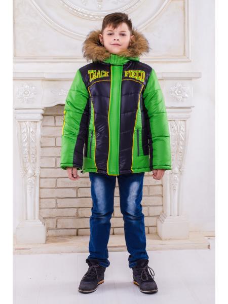 "Зимняя куртка для мальчика ""Трек"""