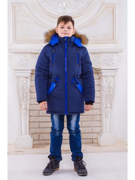 Зимняя парка для мальчика Аляска