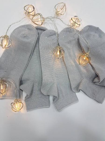 Носки подростковые Серебро фото