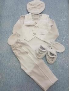 Крестильный набор для мальчика (серебро)