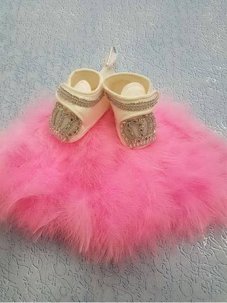 Тапочки для младенца (девочки)