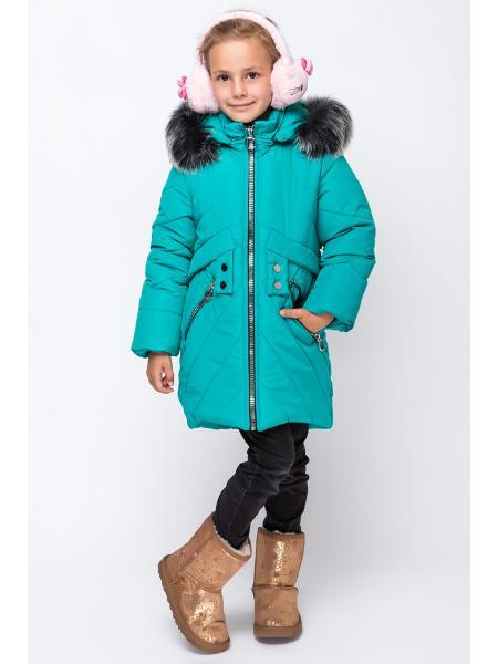 Зимнее Пальто Для Девочек «Алмаз-2» изображение