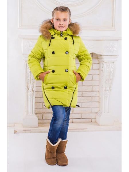 Пальто для девочки Элис фото