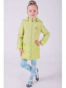 Пальто для девочки Лагуна