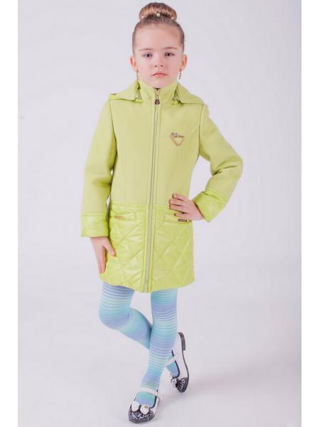 пальто для девочки «лагуна» изображение