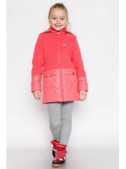 Фото пальто для девочки «лагуна»